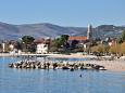Beach  in Kaštel Stari, Kaštela.