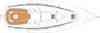 Yacht charter Bavaria 32 Cruiser | C-SY-476 - Plans