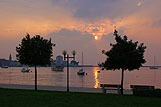 Sunset in Umag, Umag Riviera