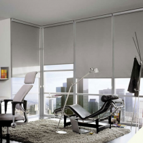 Luxaflex Room Darkening Natural Roller Blinds