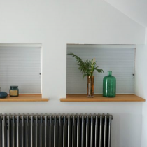 Luxaflex 20mm Essentials Dim-Out Plisse Blind