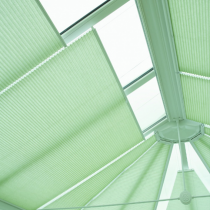 Luxaflex Plisse Conservatory Roof Blinds