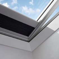 VELUX® Flat Roof Electric Energy Pleated Blinds (FMK)