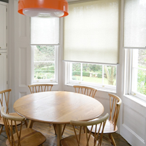 Luxaflex Sheer & Semi Transparent Natural Roller Blinds