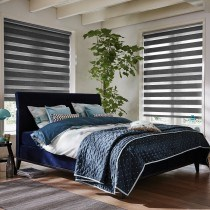 Luxaflex Twist Roller Blinds - Grey-Black