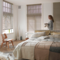 Luxaflex 16mm Creme and Natural Metal Venetian Blind