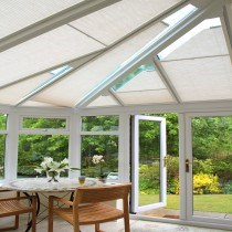 VALE Pleated Conservatory Roof Blinds
