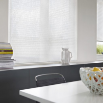 Luxaflex 20mm Essentials Transparent Plisse Blind