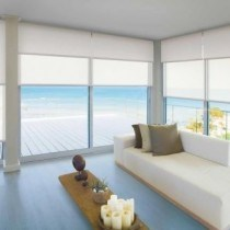 Luxaflex Xtra Large - Deco 1 - Sheer and Semi Transparent Roller Blind