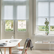 Luxaflex Sheer & Semi Transparent Colour Roller Blinds