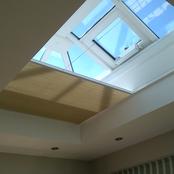 Flat Roof/Lantern Blinds