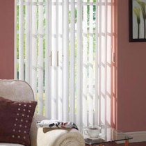 Luxaflex® Essentials Vertical Blinds White and Off White