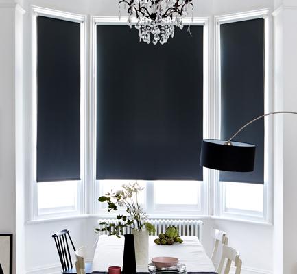 VALE Blackout Roller Blind (Standard Window)
