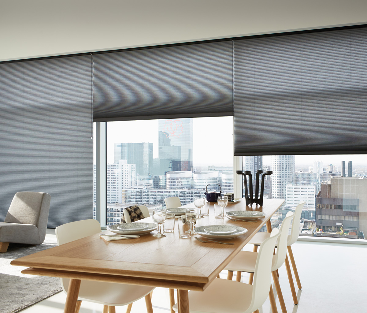 Luxaflex 25mm Fire Retardant Blackout Duette Blind