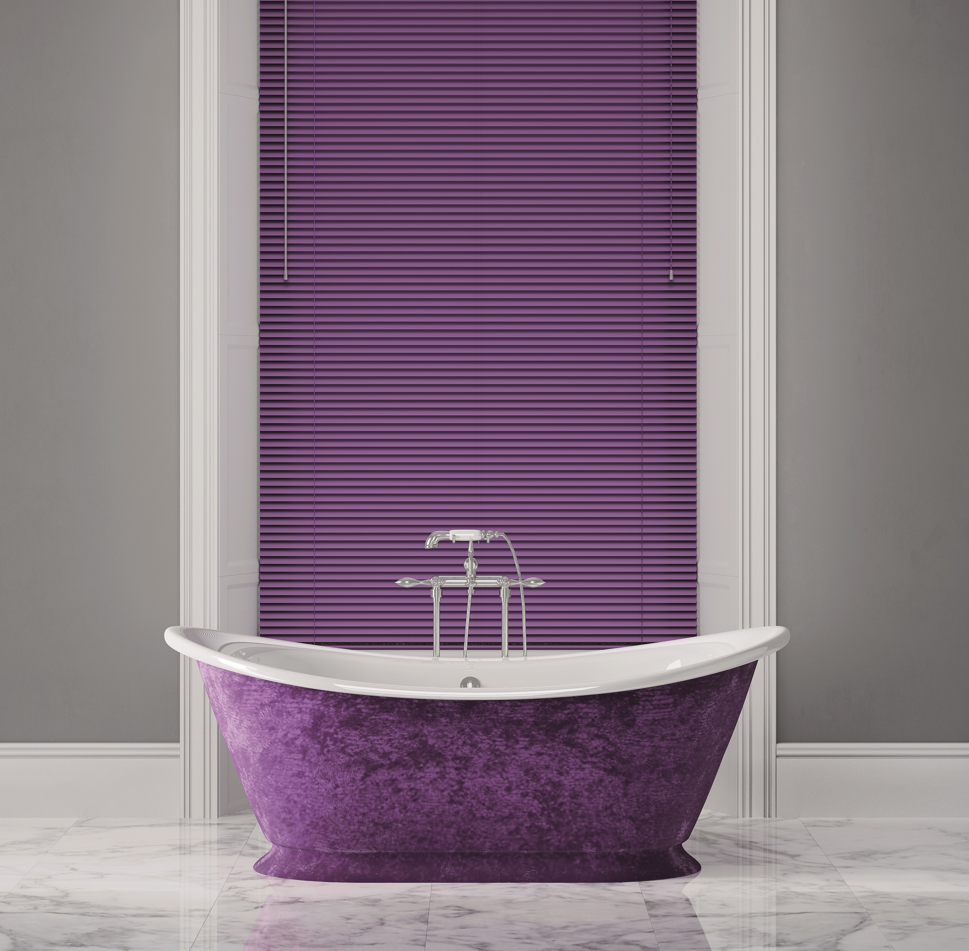 Decora 25mm Colour Metal Venetian Blind
