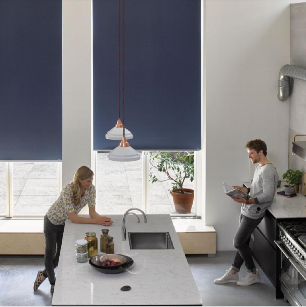 Luxaflex Roller Blue Room Darkening