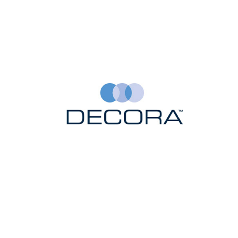Decora logo in a box