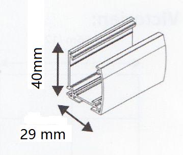 MasterBlinds Electric Headrail