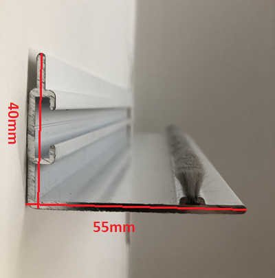 Flat Roof LP55 Side Profiles