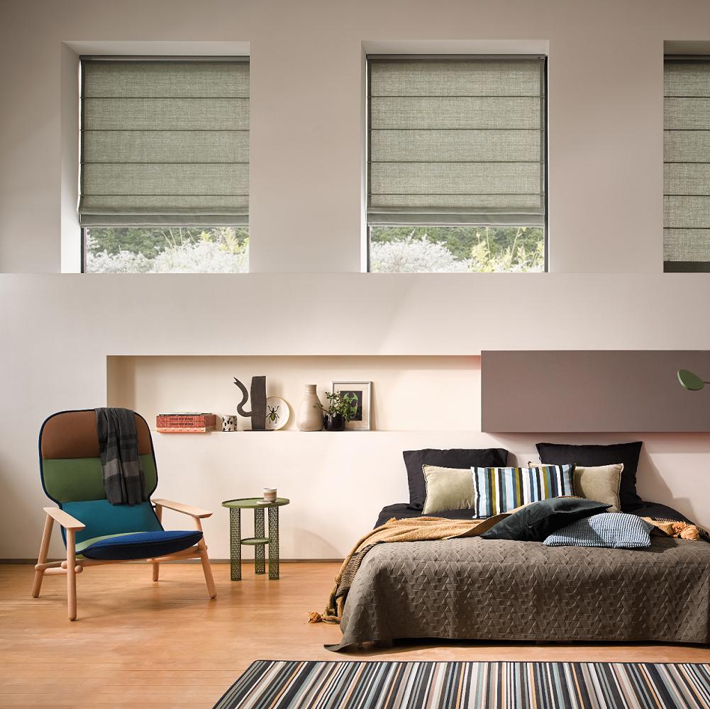 Luxaflex Elegant Living Roman Green