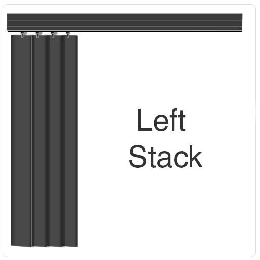 Allusion Blind Left Stack
