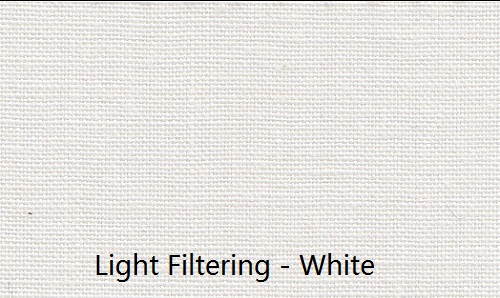 Everyday Living Light Filtering White