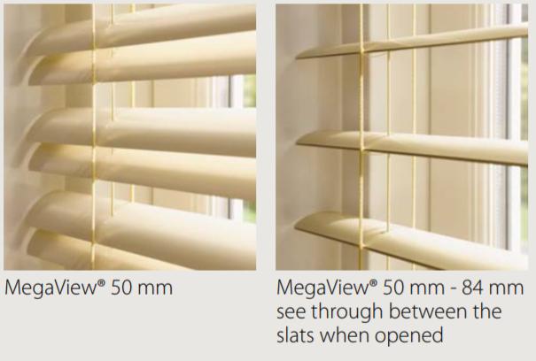 Luxaflex MegaView Blind Slats