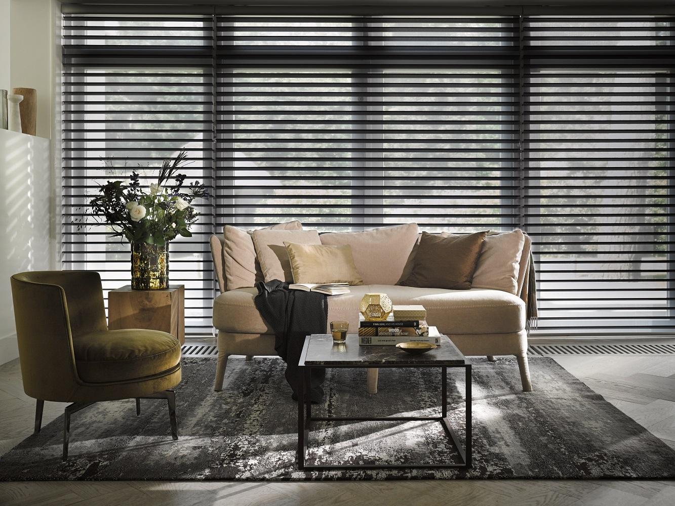 Luxaflex Silhouette Black Room