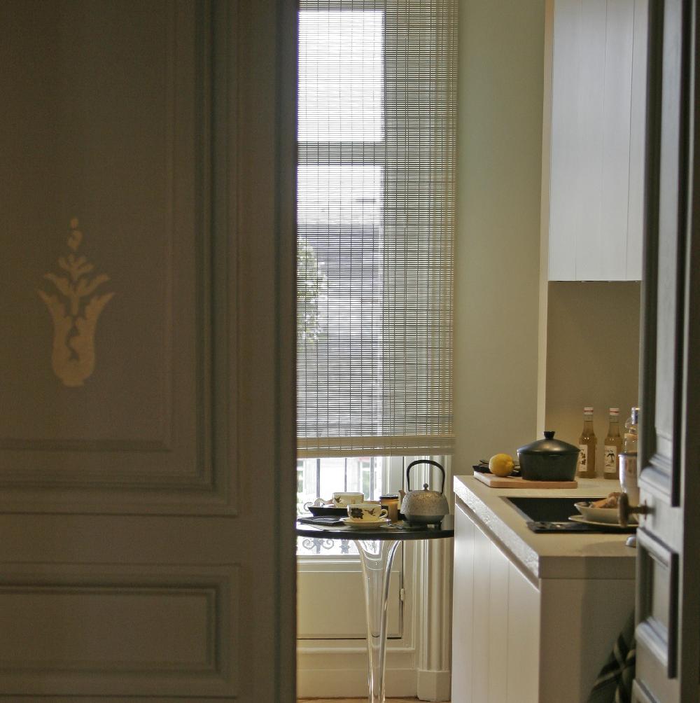 Luxaflex Wood Weave Kitchen Image