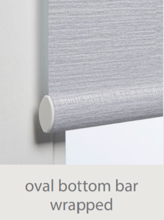Luxaflex Roller Fabric Wrapped Bottom Bar
