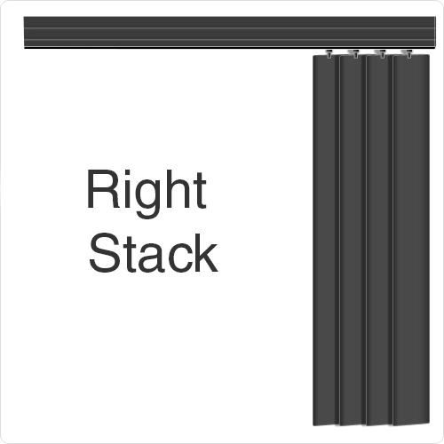 Allusion Blind Right Stack