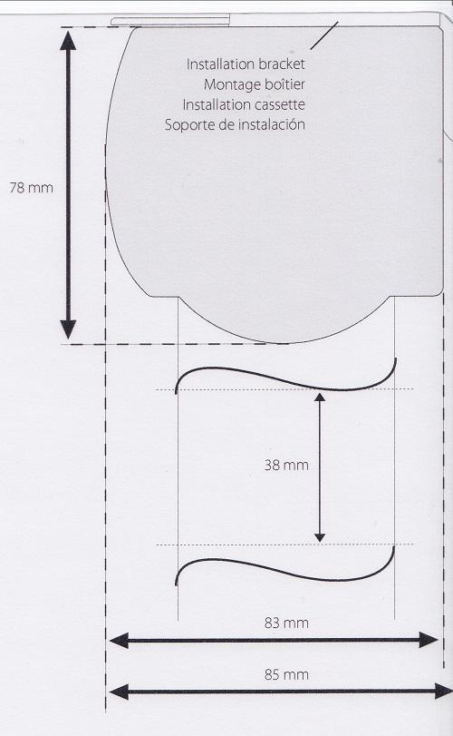 Silhouette Headrail Dimensions