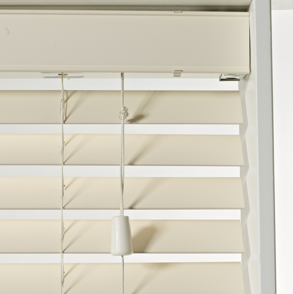 SLX Wood Blind - 50mm Cream Blind