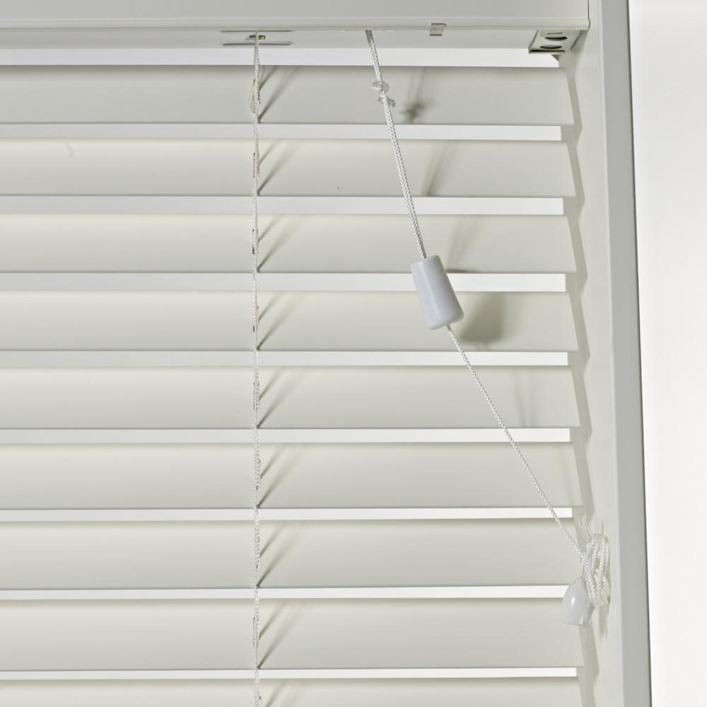 SLX Wood Blind - 50mm Pearl Blind with Safety Cleat