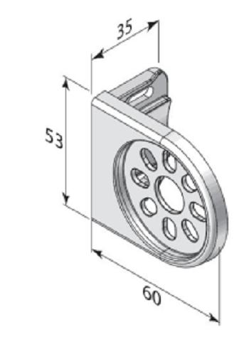 Luxaflex Roller Bracket Dimensions