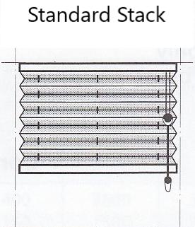Luxaflex Duette Standard Stack