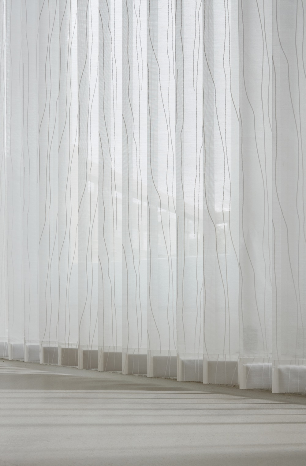 Luxaflex® Verticals Transparent and Semi