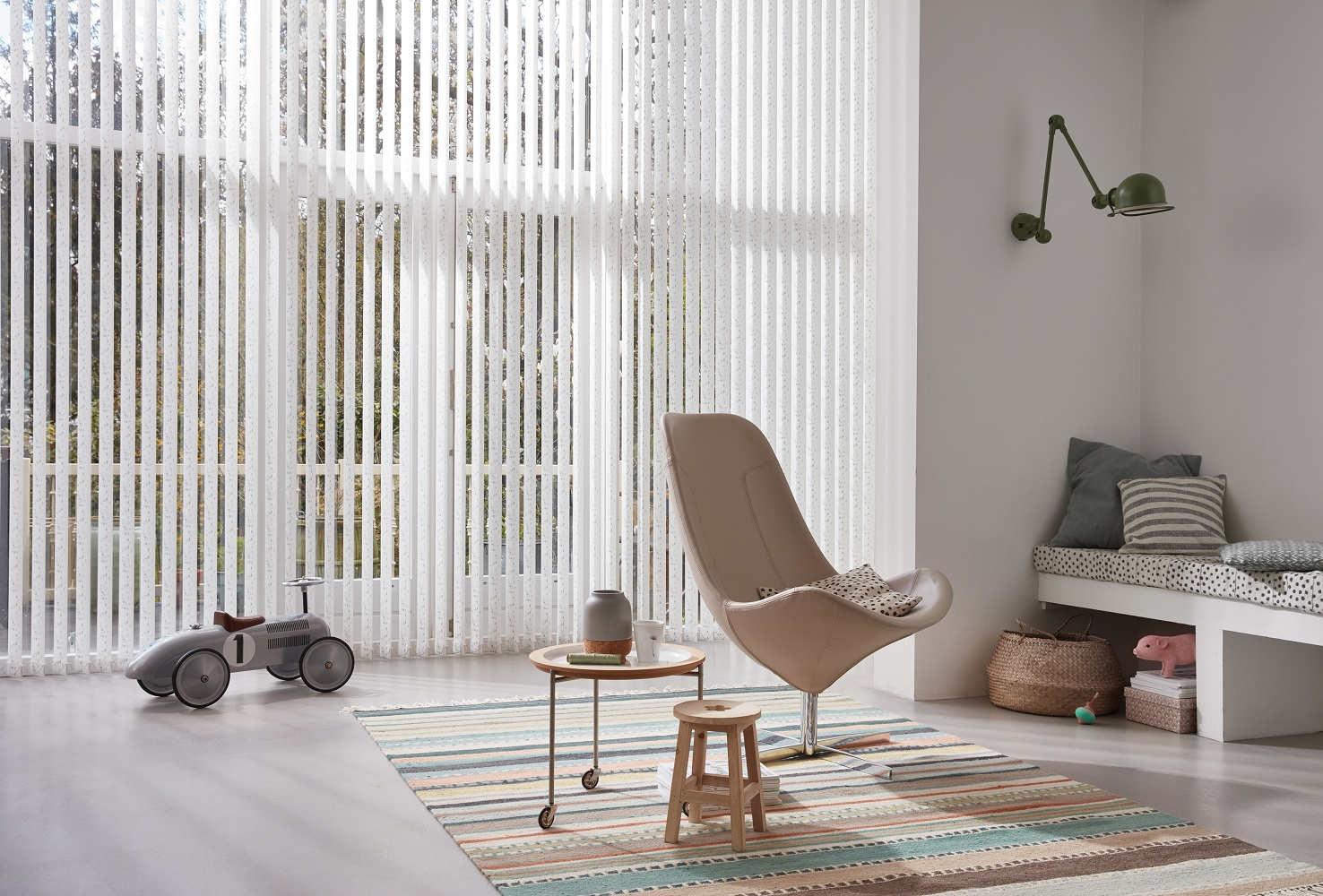 Luxaflex Opaque Vertical Blinds