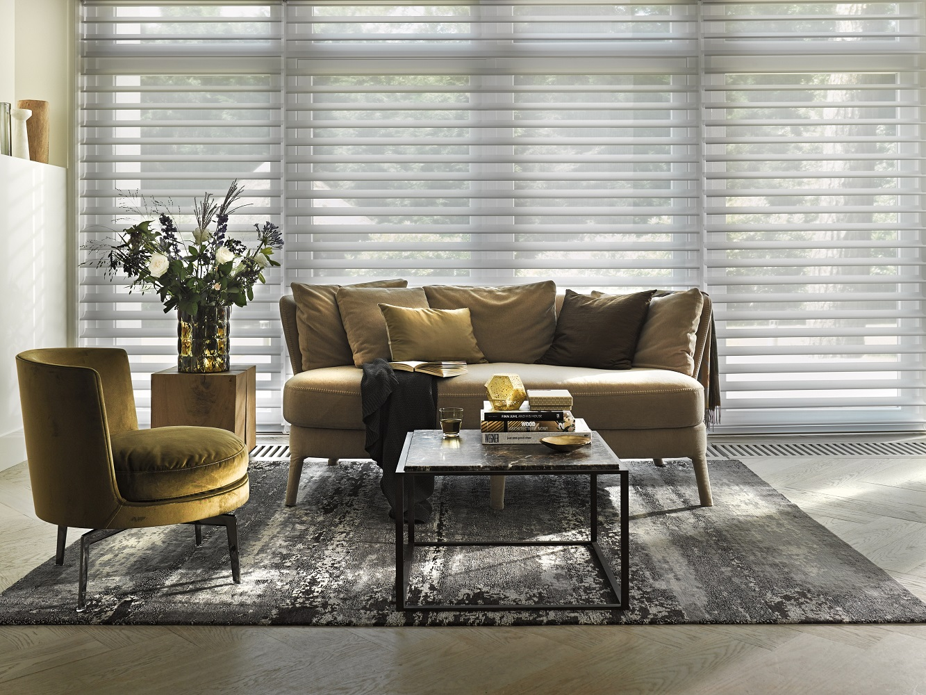 White Silhouette Room