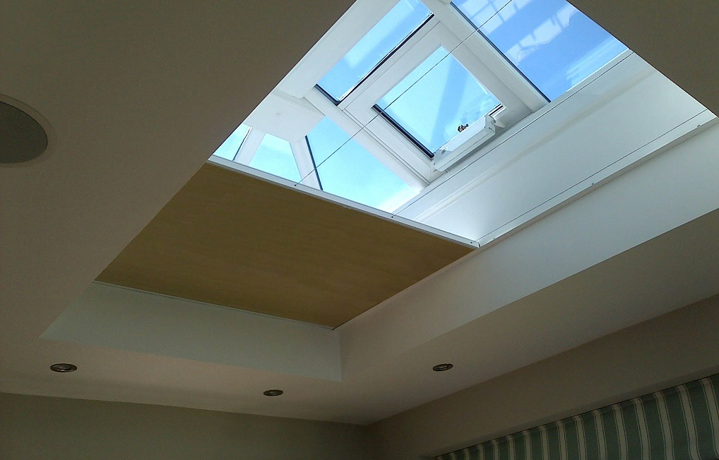 Flat Roof Blinds Lantern And Dome Window Blinds From Vale Blinds