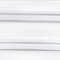 Luxaflex Facette Shades - 14mm vanes | Sincere Snow White 0695