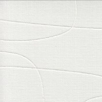 Luxaflex Vertical Transparent White & Off White - 89mm | 2483 Moana