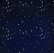 VALE Dim Out Roller Blind (Standard Window) | 917165-0234-493-234-200-Night Sky