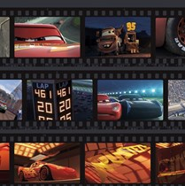Genuine Velux (DKL) Childrens Blackout Blind   Cars Film Strip 4652