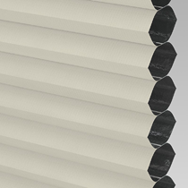 VALE Flat Roof Honeycomb Blackout Blind | PX72002-Hive Cream