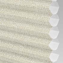 VALE INTU Cellular/Pleated Non-Blackout Blind | PX78101-Hive Matrix Cream