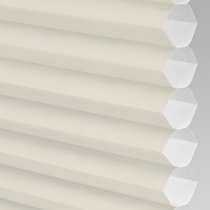 VALE Flat Roof Honeycomb Translucent Blind | PX71002-Hive Plain Cream