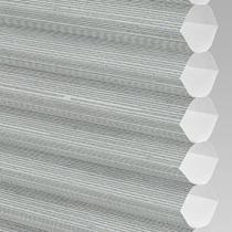 VALE INTU Cellular/Pleated Non-Blackout Blind | Hive Silkweave Ash
