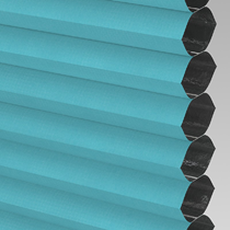 VALE Blackout Honeycomb Blind | PX72011-Hive Teal