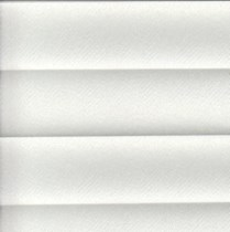 VALE Pleated Conservatory Roof Blinds | Infusion asc FR White